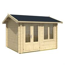 3.0m x 2.5m Alex 70 Log Cabin