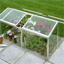 Halls 4 x 3 Jumbo Toughened Glass Cold Frame
