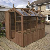 "Swallow Jay 6' 8"" x 20' 10"" Thermowood Timber Potting Shed"