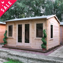 4m x 3m Waltons Bridgeford Log Cabin