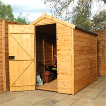 7 x 5 Waltons Windowless Tradesman Tongue and Groove Apex Wooden Shed