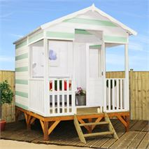 11 x 8 Beach Hut Wooden Summerhouse